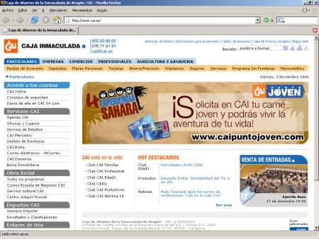 Hipotecas Caja Inmaculada de Aragón