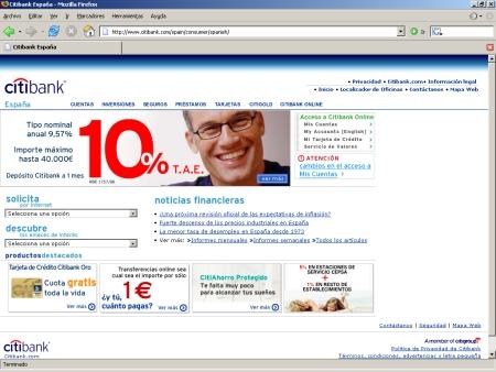 Hipotecas Citibank España