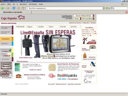 Hipotecas Caja España