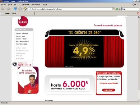 Hipotecas Mediatis Banco Sygma